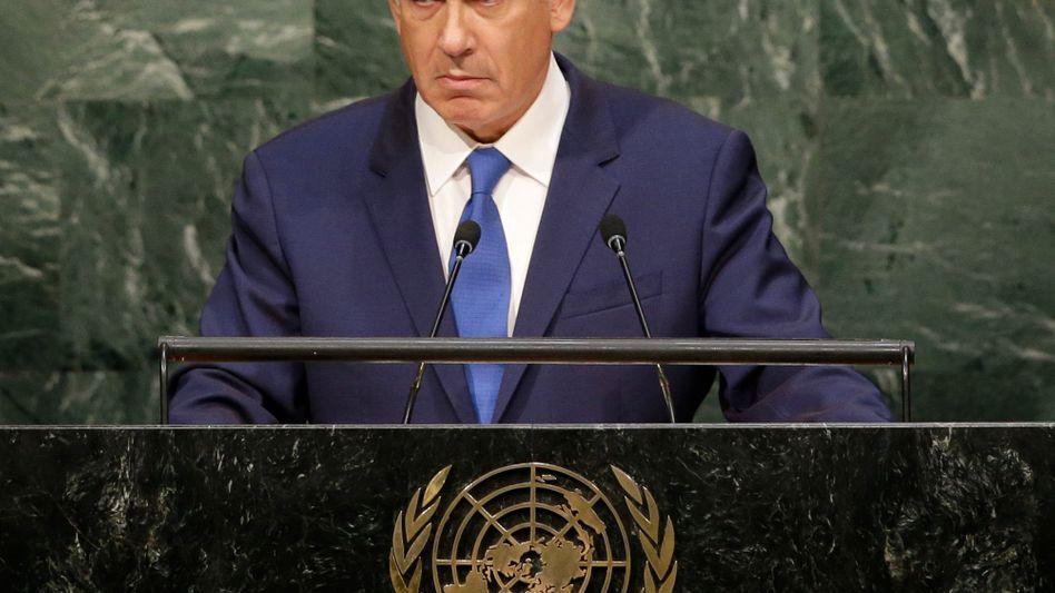 Benjamin Netanyahu vor der Uno: Iran ist gefährlich