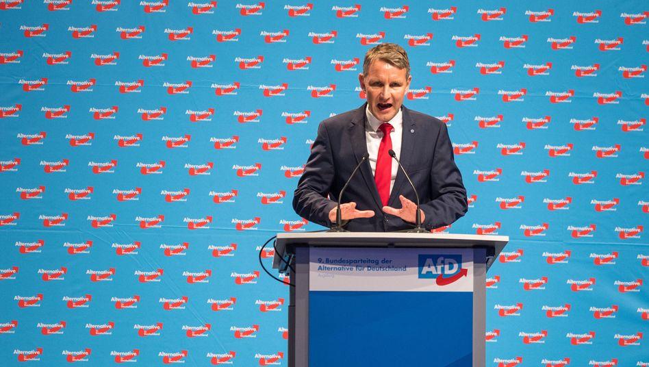 """AfD-Politiker Björn Höcke: """"Menschliche Härten und unschöne Szenen"""""""