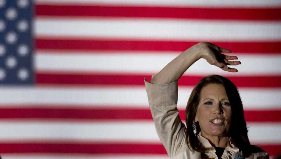 """Republikanerin Bachmann: """"Unabhängigkeit von der Regierung"""""""