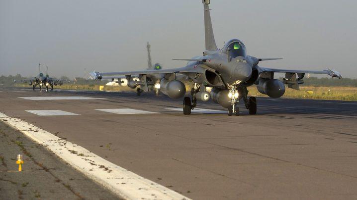 Krieg gegen Islamisten: Kampfjets über Mali