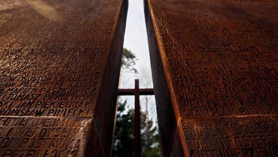 Katyn, Russland: Der stalinistische Geheimdienst ermordete im Wald um die westrussische Stadt 22.000 gefangene Polen