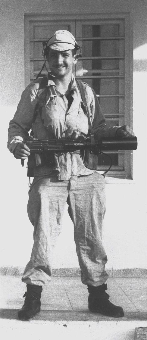 Ehud Barak als junger Elite-Soldat
