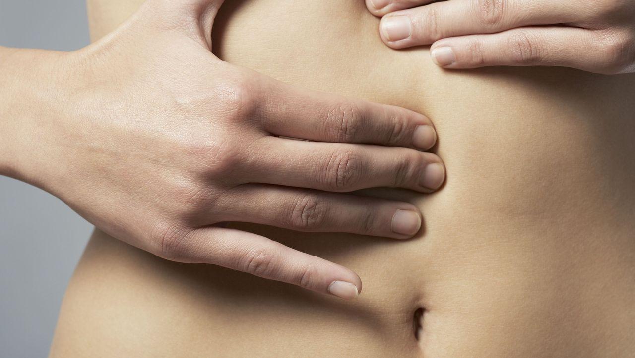Unter brust der rechten stechen dauerhaftes Stechen in