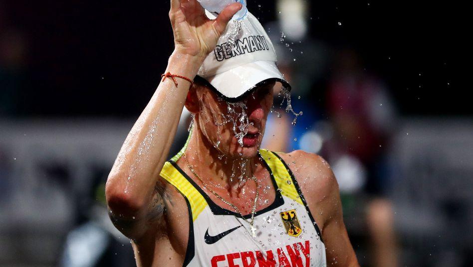 Christopher Linke verpasste Bronze, feierte dennoch die beste Platzierung seiner Karriere