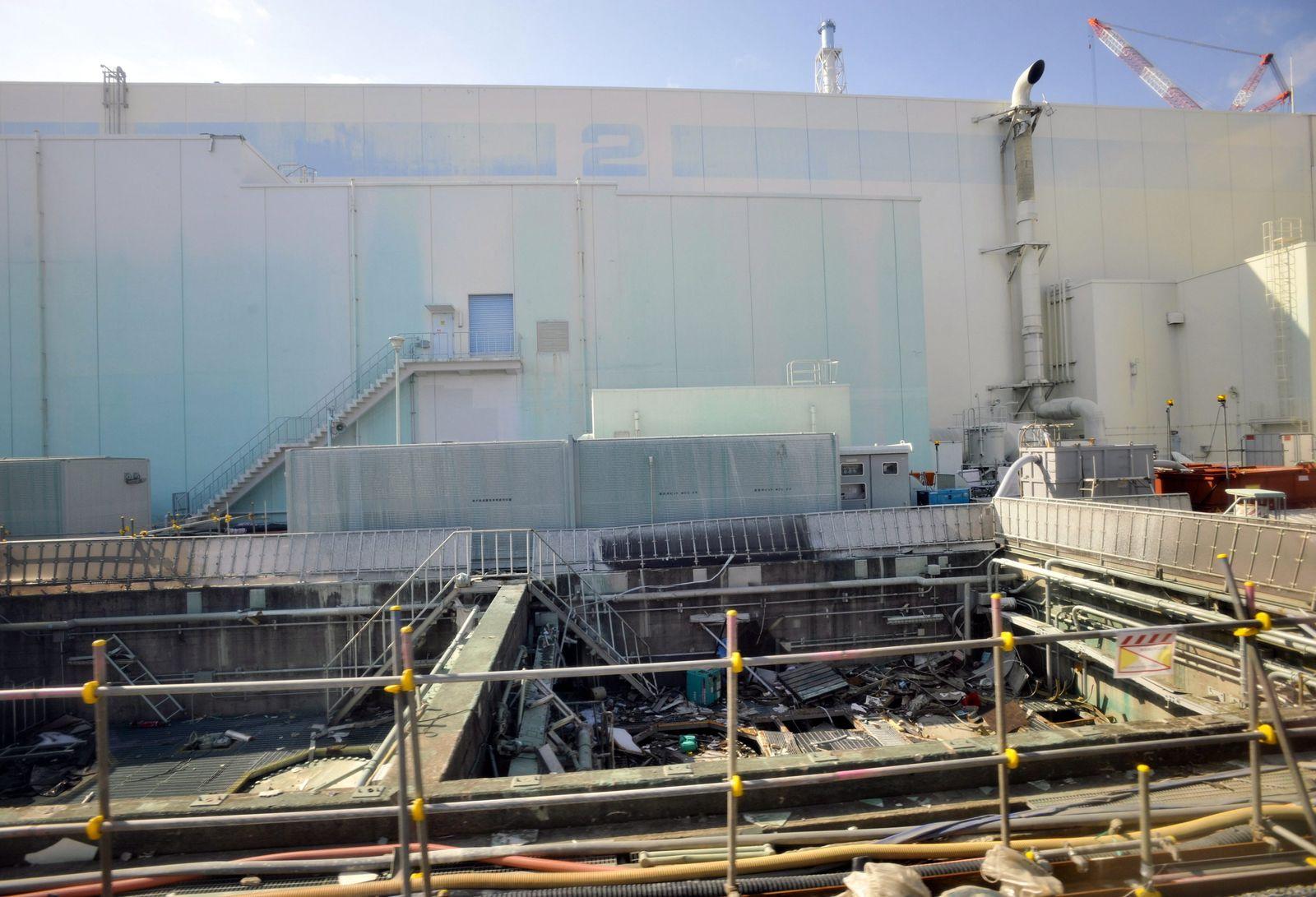 Fukushima / Neues Leck