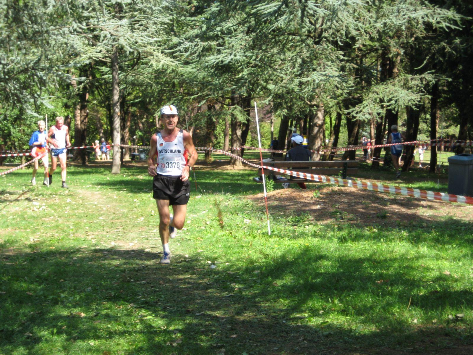 EINMALIGE VERWENDUNG Klemens Wittig / Senioren-Europameister / Laufen
