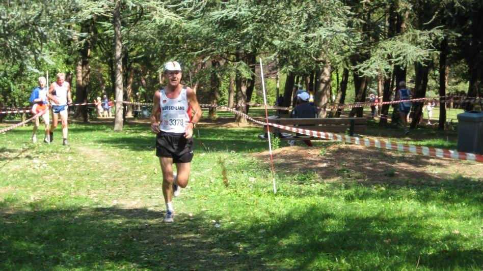 Klemens Wittig, 75, in Aktion: Zwölf neue deutsche Rekorde in seiner Altersklasse - und das nur 2012