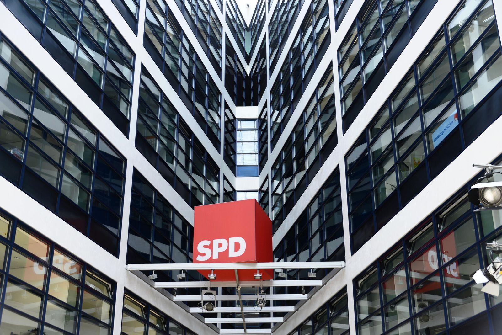 EINMALIGE VERWENDUNG SPD/ Zentrale/ Willy-Brandt-Haus