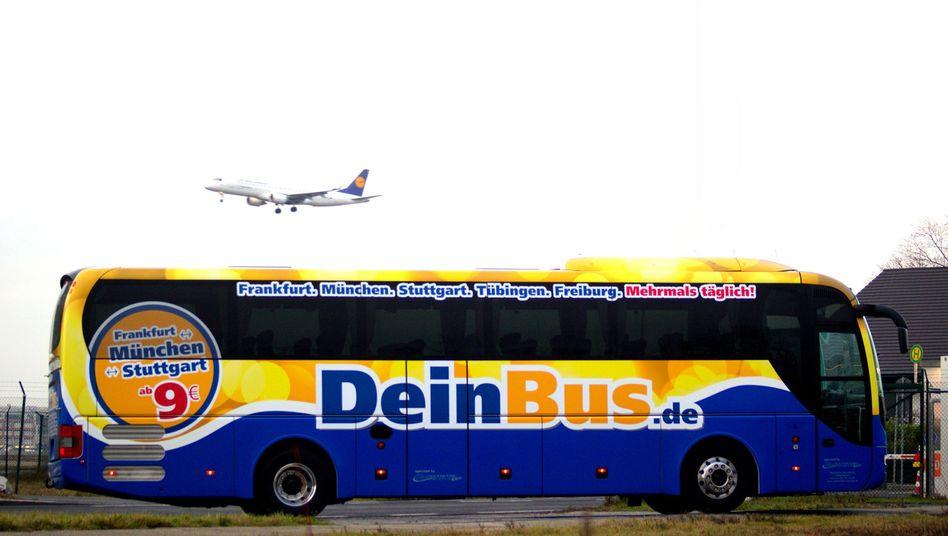 """Bus von DeinBus.de: """"In der Branche wird mit harten Bandagen gekämpft"""""""