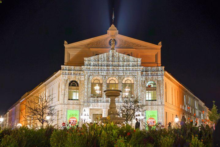 Gärtnerplatztheater: Stündlich wechselnde Projektionen