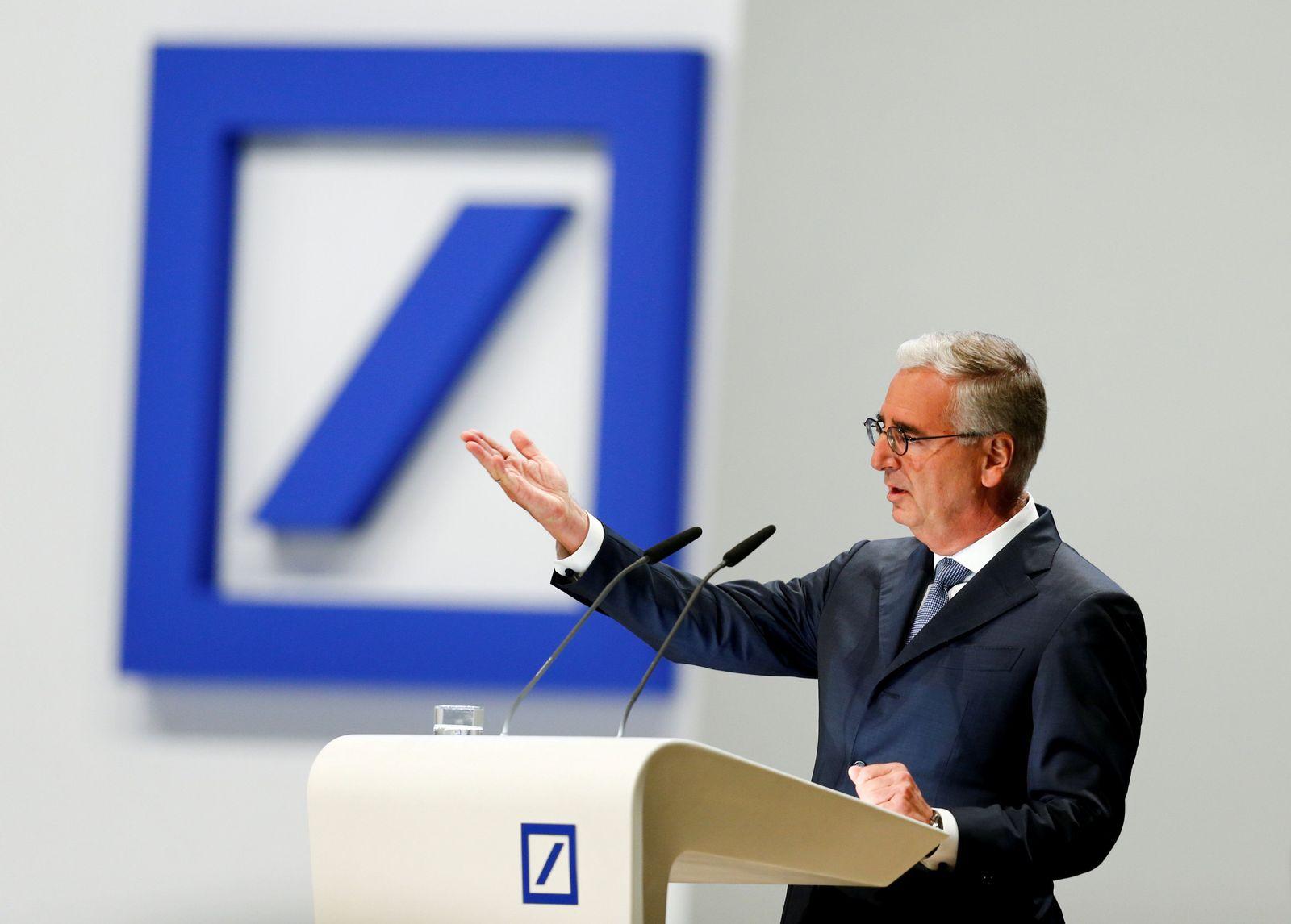 Paul Achleitner Deutsche Bank