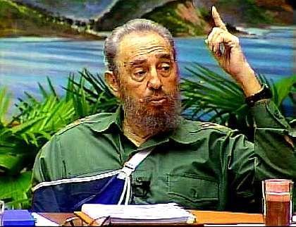 """Diktator Fidel Castro: """"Perfekte Demokratie"""""""