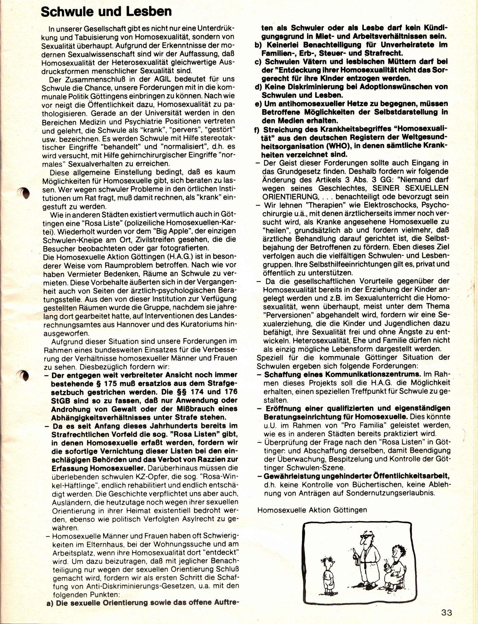 Wahlprogramm 81 Auszug