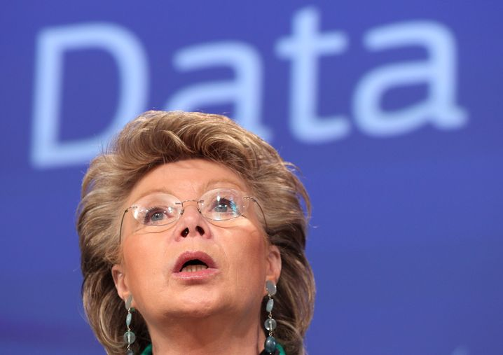 EU-Kommissarin: Viviane Redings Entwurf gibt der Kommission Macht über Datenschützer