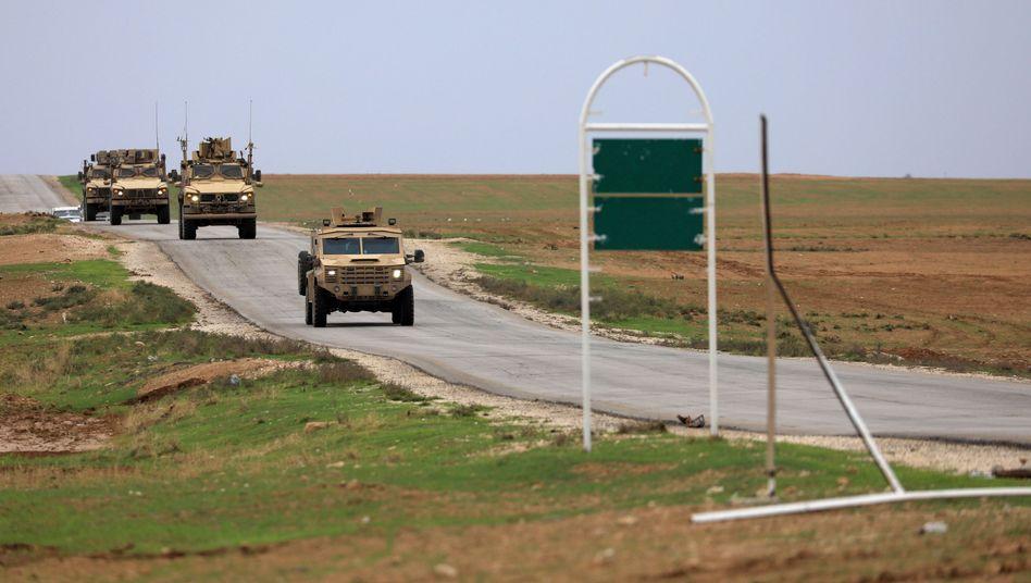 US-Truppen in Syrien (November 2018)