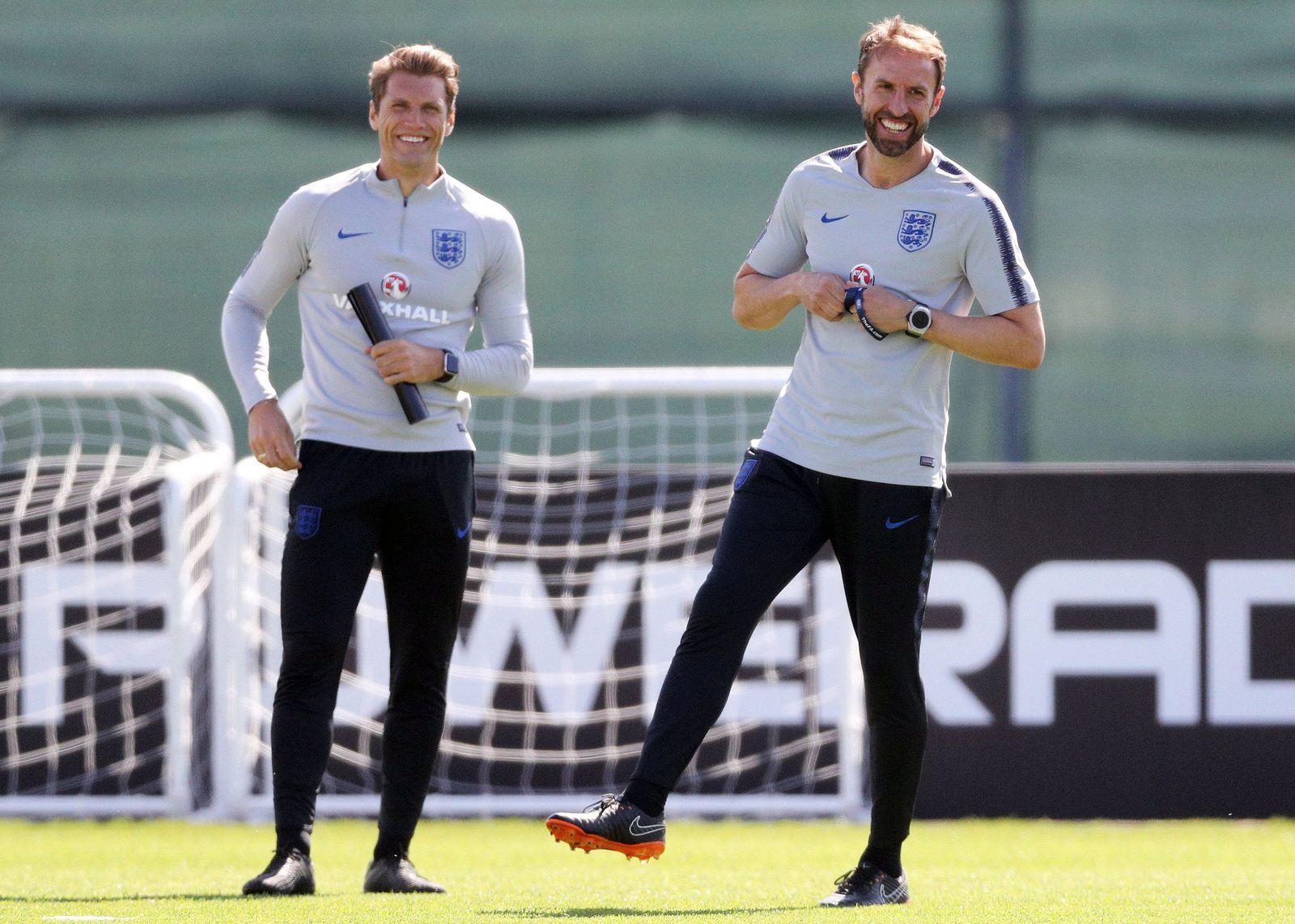 WM 2018 - Training England