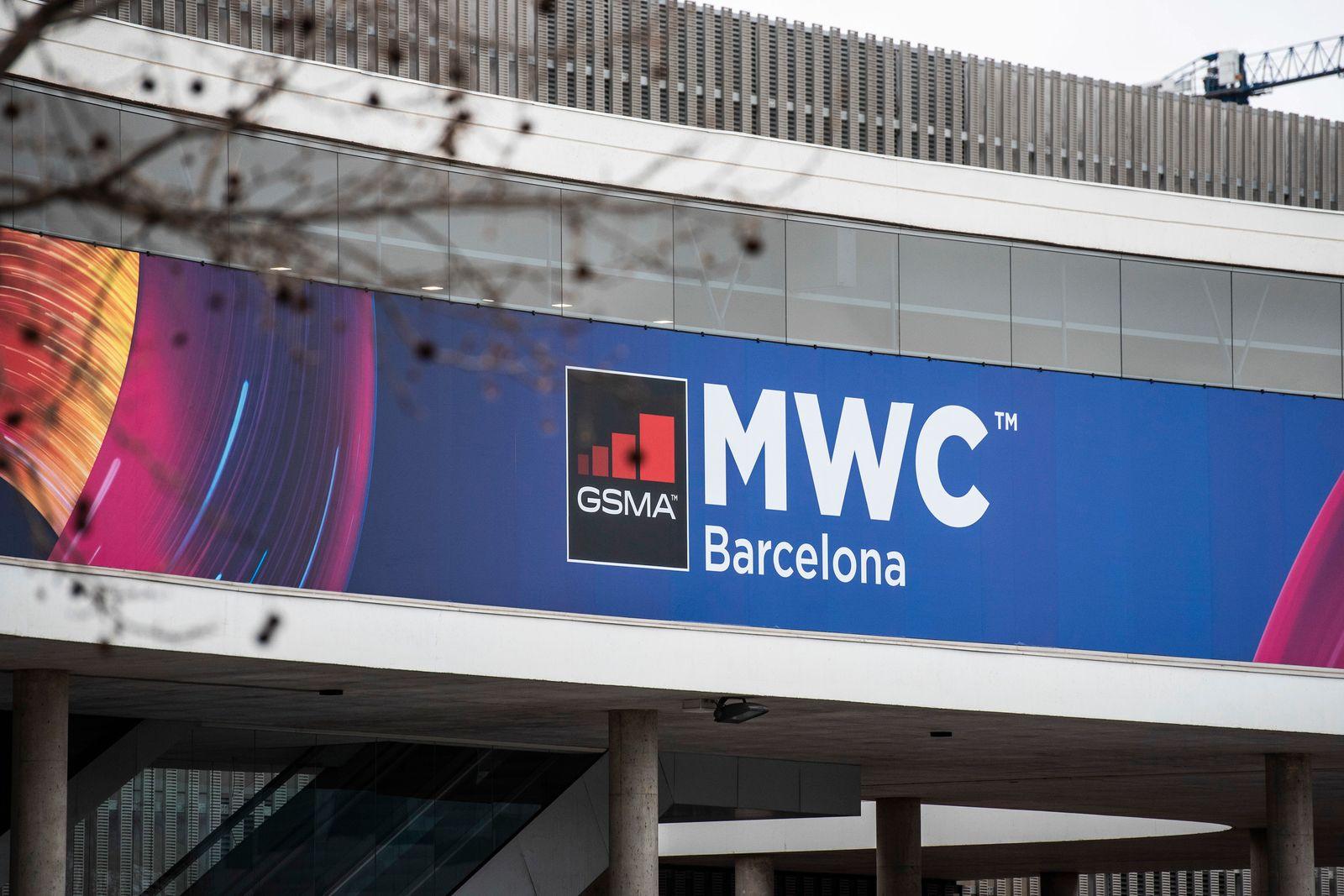 Mobilfunk-Messe MWC in Barcelona