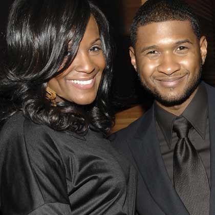 Ehepaar Usher und Tameka Foster: Im Januar kommt der Nachwuchs