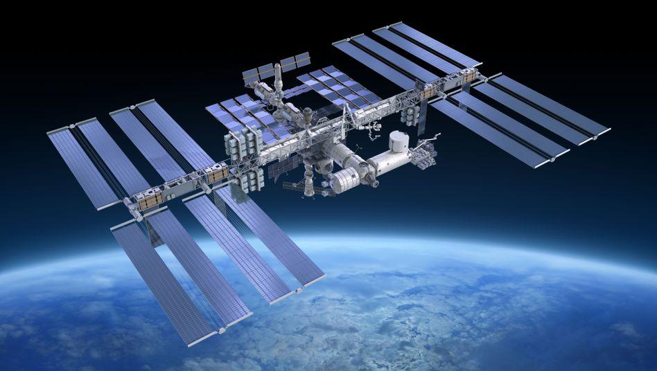 Die ISS ist das größte außerirdische Bauwerk der Menschheitsgeschichte