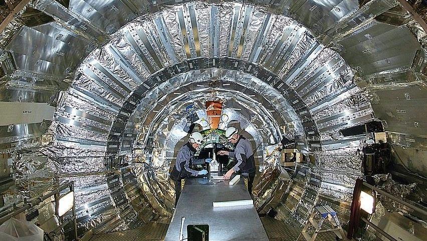 LHC-Teilchenbeschleuniger am Cern bei Genf