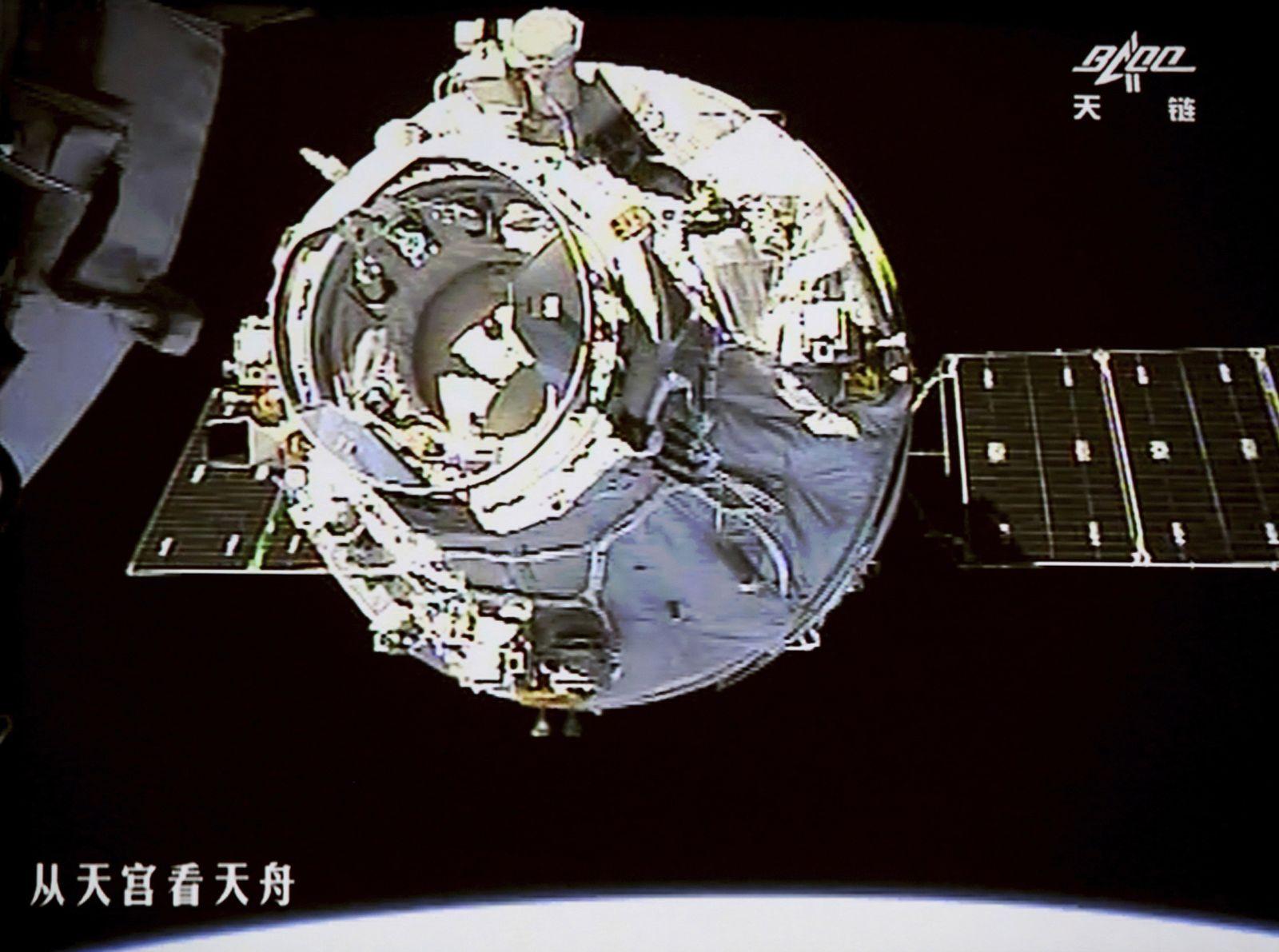 Chinas Raumlabor soll verglühen