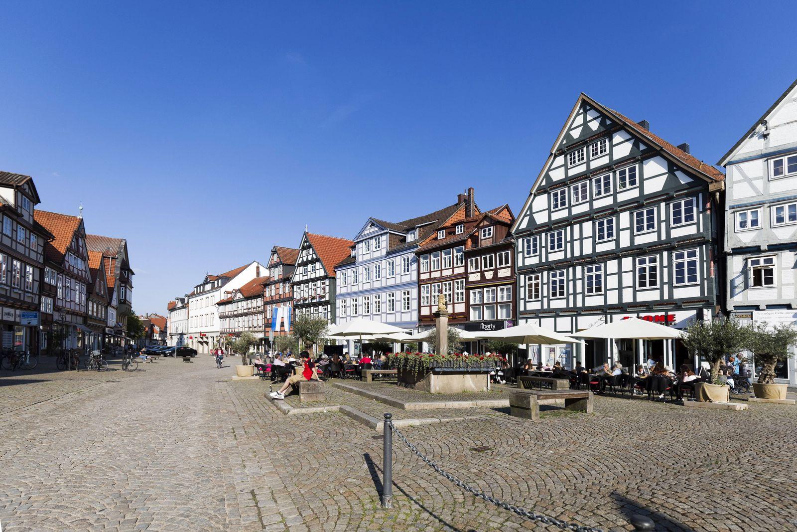 EINMALIGE VERWENDUNG Celle Altstadt