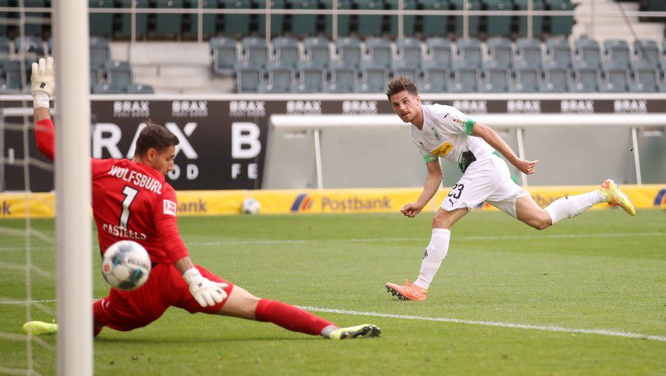 Mann des Spiels: Hofmann erzielte gegen Wolfsburg zwei Treffer