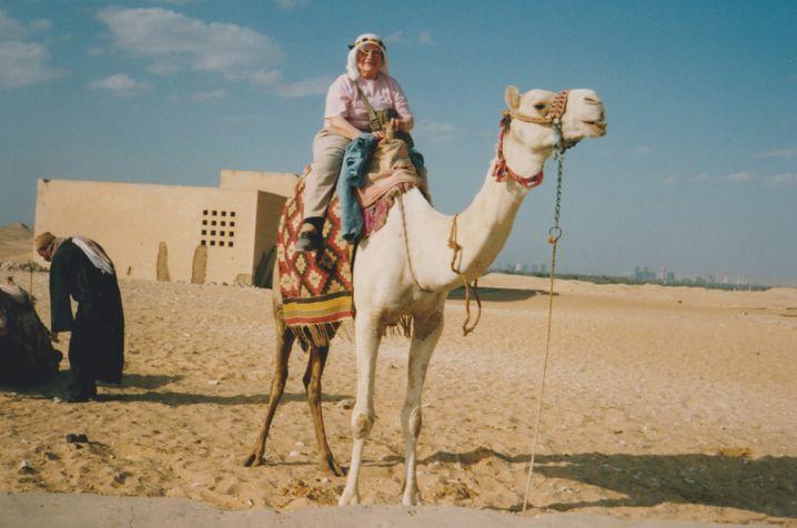 Tante Inge in Ägypten (1993): Die Kamera hatte sie stets griffbereit