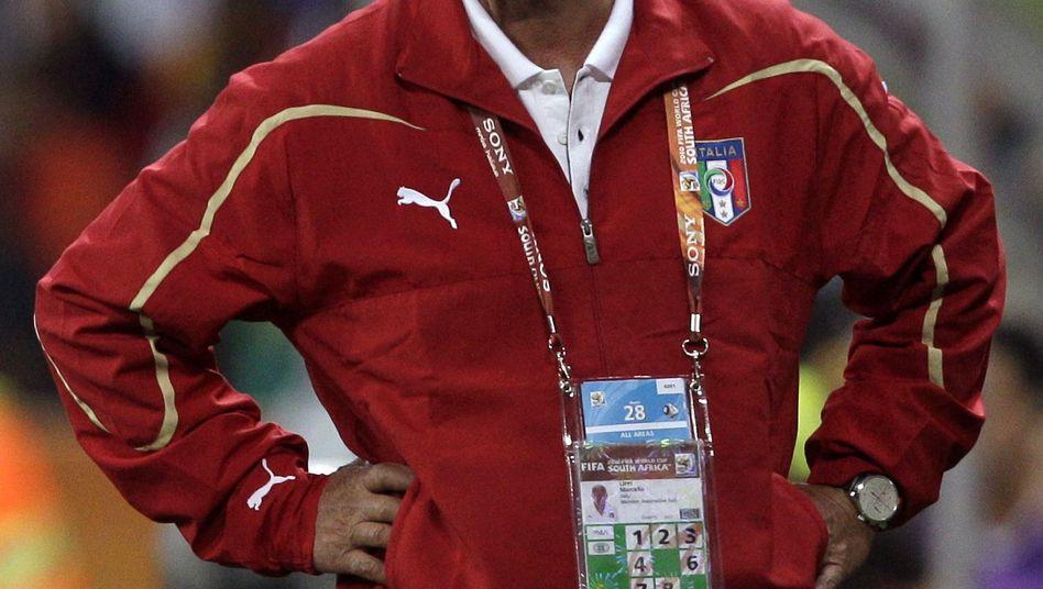 """Italien-Coach Lippi: """"Alle Waffen ausprobiert"""""""
