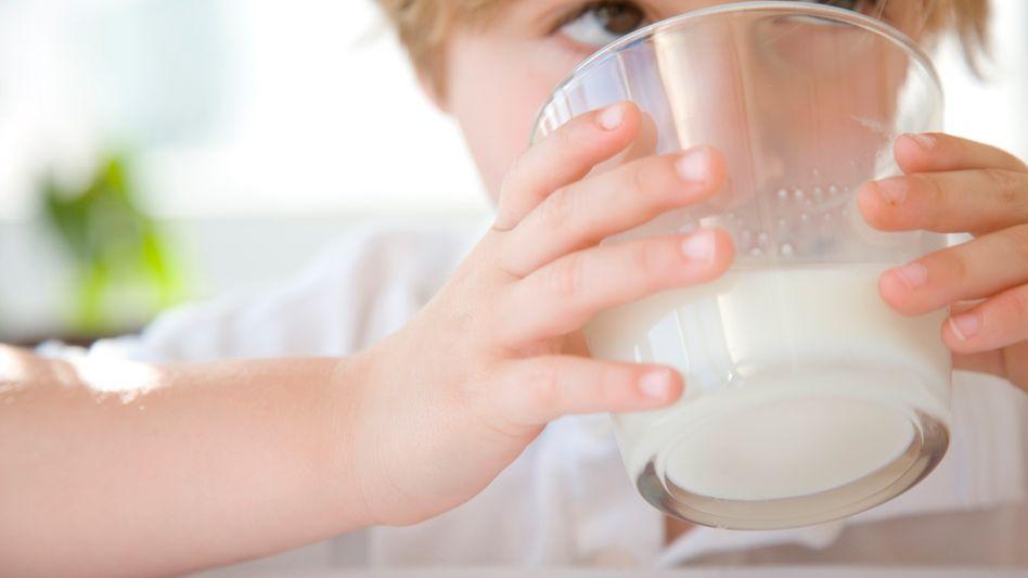 Milch: Ist vor allem für Kinder sehr gut geeignet