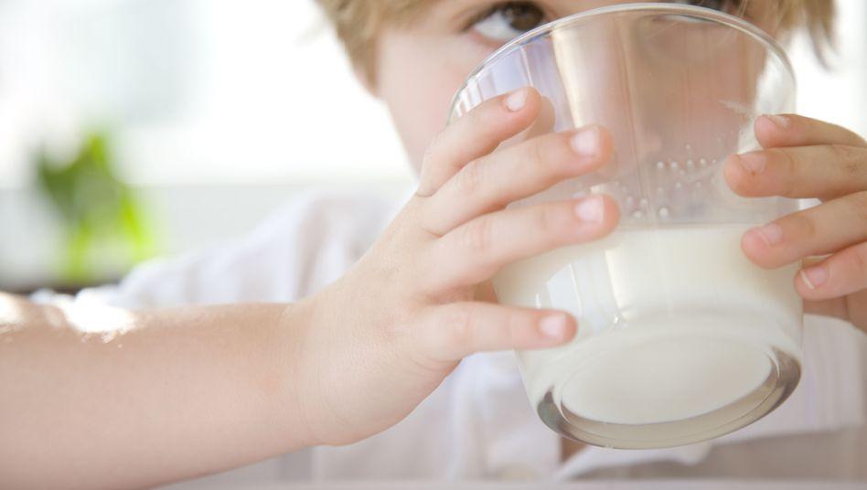 Lecker Milch: Reich an Jod, wenn Zusätze im Tierfutter waren