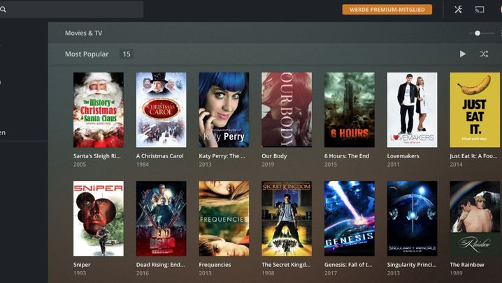 Plex: Streamingportal im Netflix-Look
