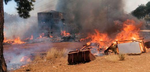 Antalya: Dutzende Verletzte bei Waldbrand in der Türkei