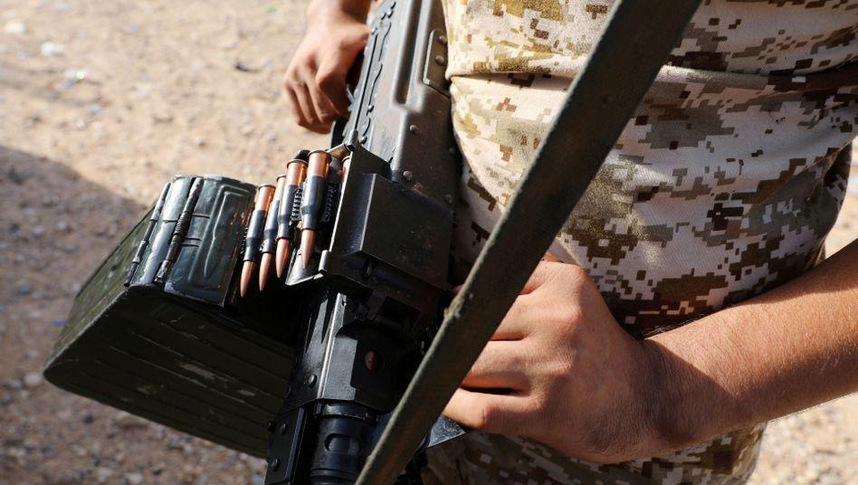 Libyscher Regierungssoldat