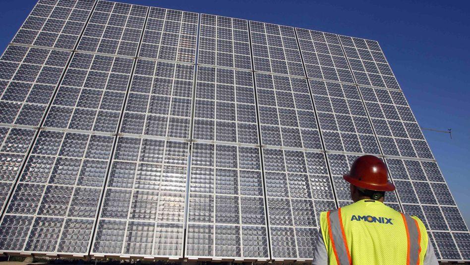 """Solarzellen: """"Es sind viele, viele tausend Arbeitsplätze davon abhängig"""""""
