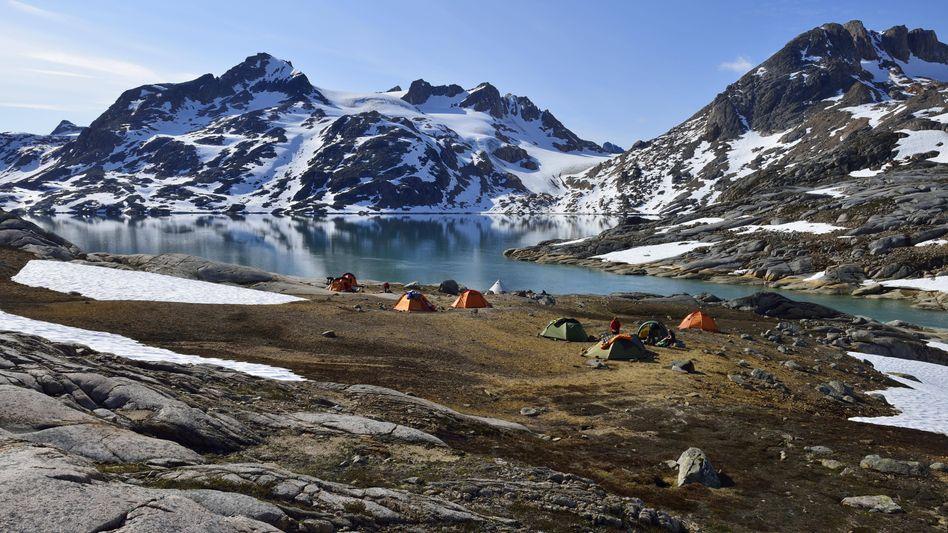 Campen in Island
