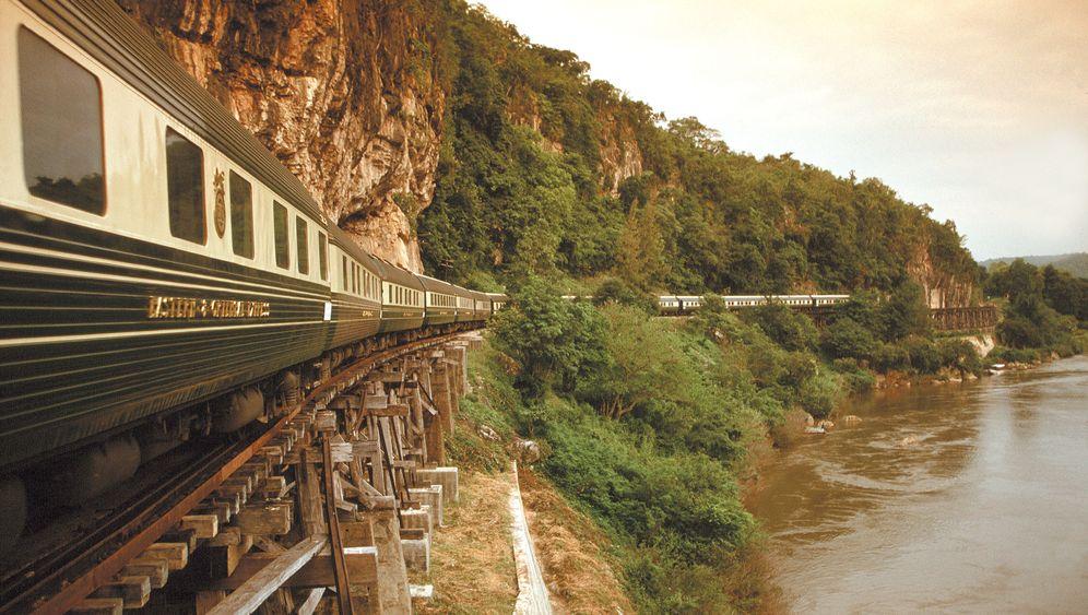 Eastern & Oriental Express: Nostalgische Scheinwelt im Luxuszug