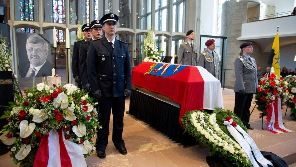 Politischer Mord: Trauerfeier für Walter Lübcke am 13. Juni in Kassel