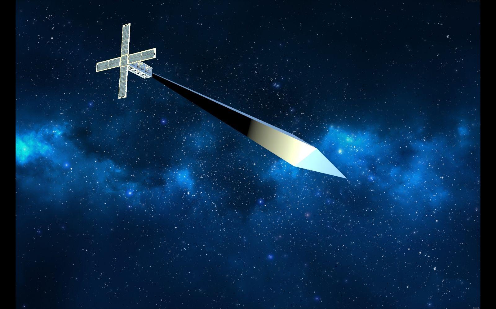 Satelliten-Skulptur soll im All fliegen