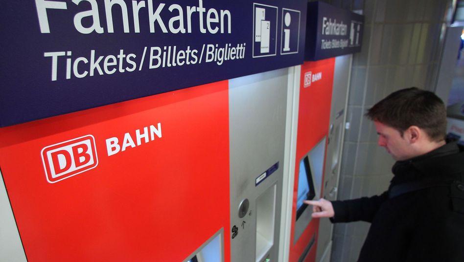 Ticketautomat der Bahn: Am 9. Dezember werden die Preise erhöht