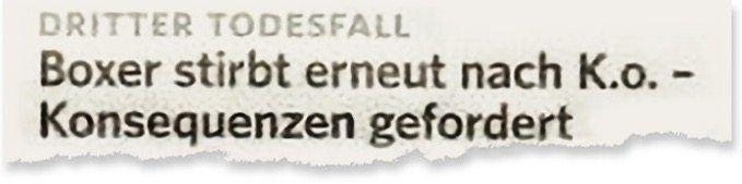 Aus der »Bergedorfer Zeitung«
