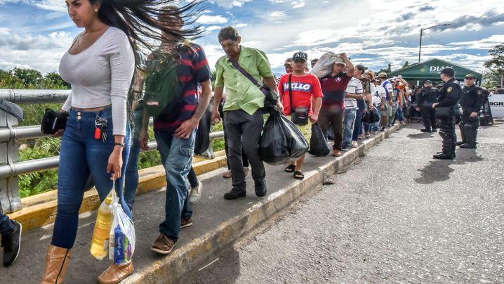 Krise in Venezuela: Die Versorgungsbrücke