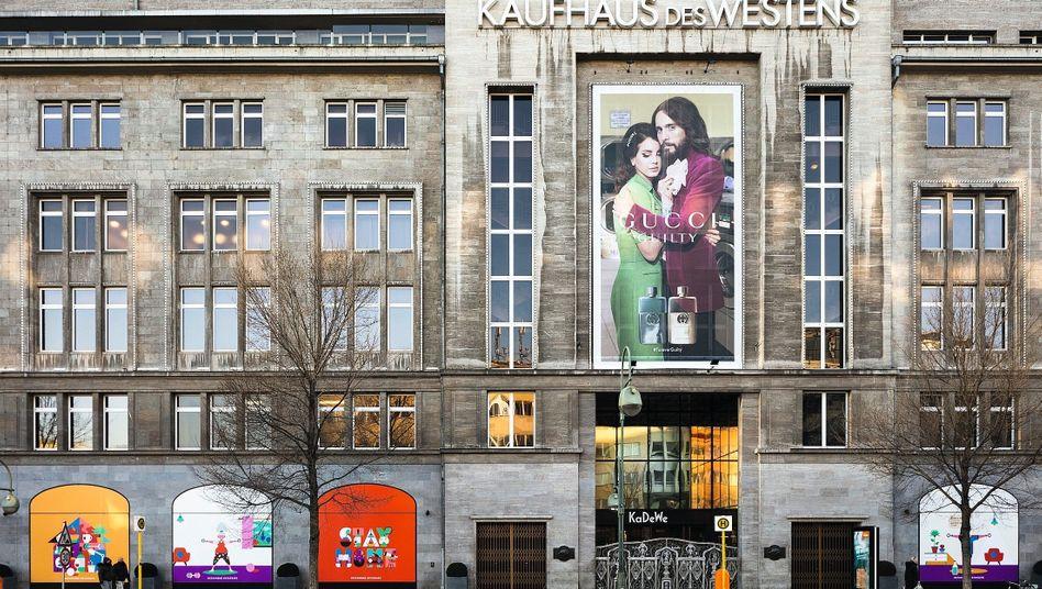 Geschlossenes Warenhaus in Berlin im März:50.000 Insolvenzen werden befürchtet