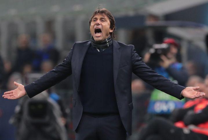 Erfolgstrainer Antonio Conte formte in Mailand eine konkurrenzfähige Mannschaft