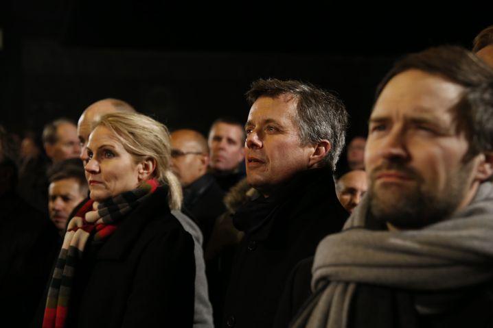 Die dänische Premierministerin Helle Thorning-Schmidt und Kronprinz Frederik: Schulter an Schulter