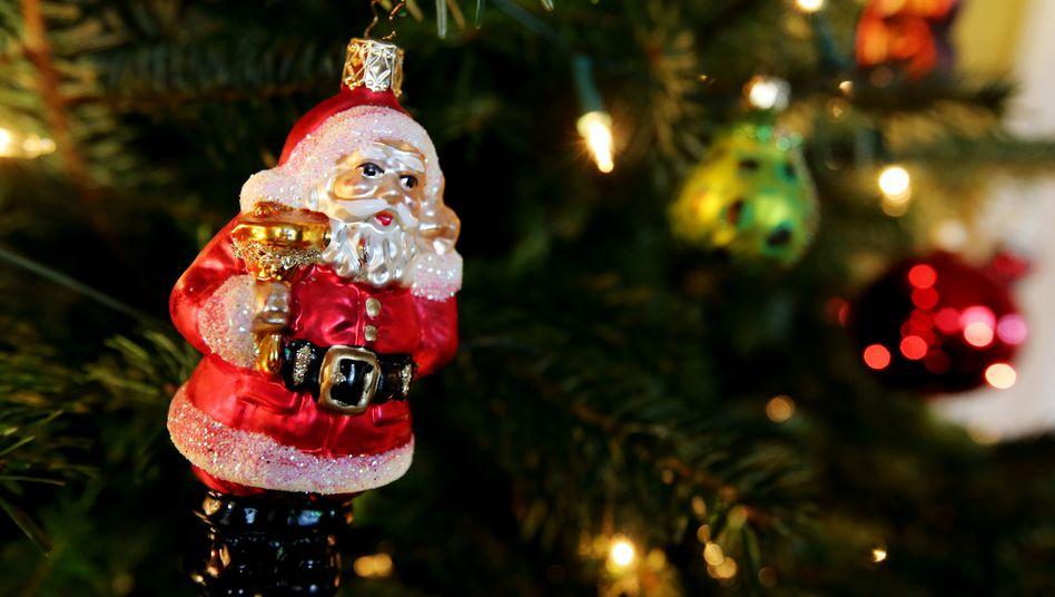 Weihnachtsmann im Homeoffice: 2020 ohne Feiern