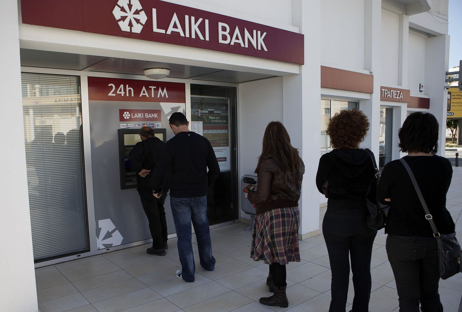 Zypern / Laiki Bank / Bankkunden