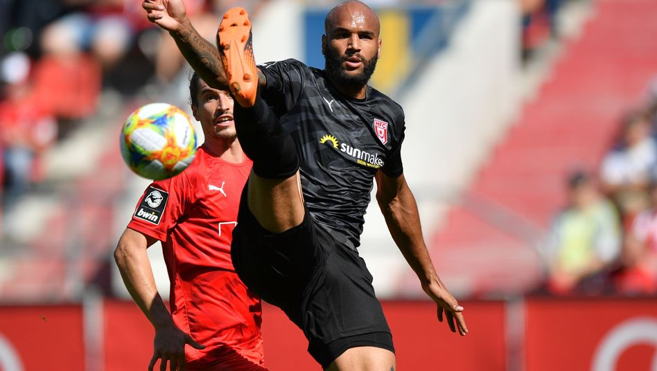 Terrence Boyd hätte im Spiel gegen Münster eigentlich ausgewechselt werden sollen. Hätte. Eigentlich.