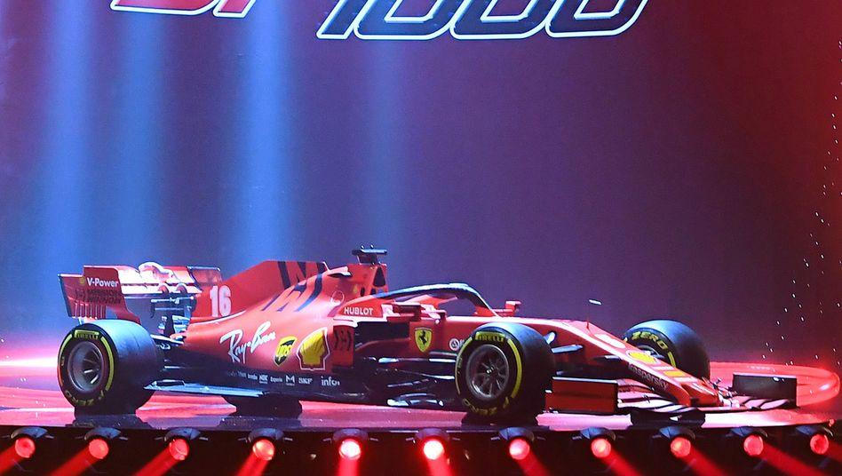 """Neuer Ferrari-Bolide: """"Es steckt sehr viel Arbeit in diesem Auto"""""""