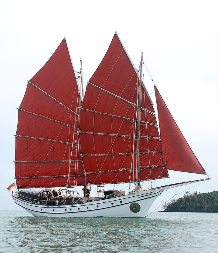 Sieben Jahre dauerte der Bau der »Naga Pelangi 2«.
